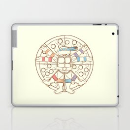Vitruvian Turtle Laptop & iPad Skin