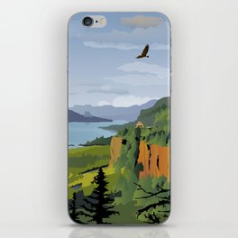 The Columbia Gorge BRIGHTER! iPhone Skin