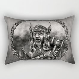 Thor - Norse God of thunder Rectangular Pillow