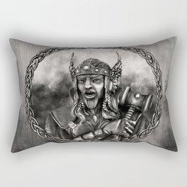 Thor - Norse God of thunder Rectangular Pillow