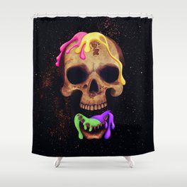 It Comes from Outer Space Shower Curtain