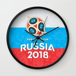 Russia world cup Wall Clock