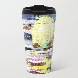 Butterfly Sunset Travel Mug