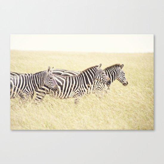 trois::kenya Canvas Print