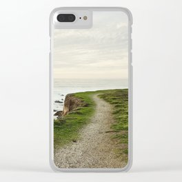 California Coast Trail Clear iPhone Case