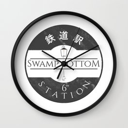 The 6th station (Spirited away) Wall Clock