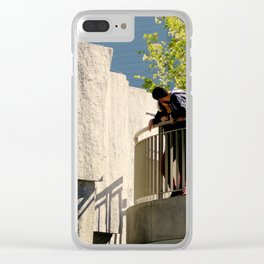 Since I Falls For You Clear iPhone Case