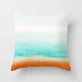 Waves and memories 02 Throw Pillow