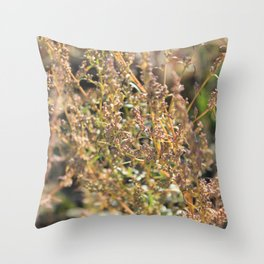 Autumn whisper Throw Pillow