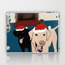 Labs Love Christmas! Laptop & iPad Skin