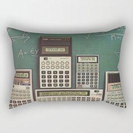 Casio Calculators...the good old days. Rectangular Pillow