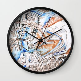 London and Florence Wall Clock