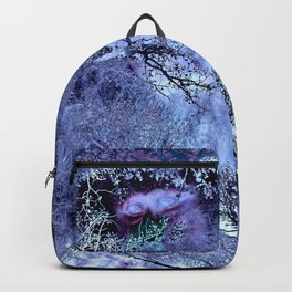 LIFE IN THE VIOLET BUSH OF GHOSTS Backpack