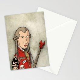 THRASH ME AMADEUS Stationery Cards
