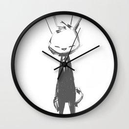 minima - beta bunny pose Wall Clock