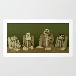 Board of Inquiry Art Print