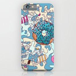 Sweet Blue Camo iPhone Case