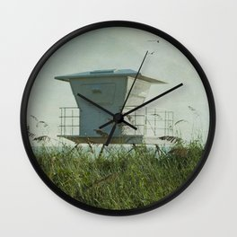 Off Duty Lifeguard Wall Clock