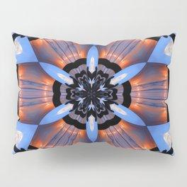 Vibrant Romeo Sunrise Double Kaleidoscope Pillow Sham