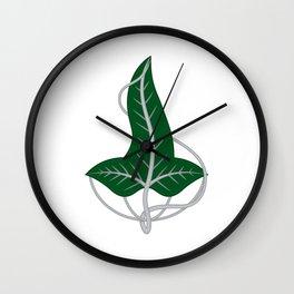 Leaf of Lorien Wall Clock
