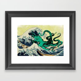 Great Octo-Wave Framed Art Print