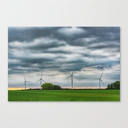 Wind generators Canvas Print