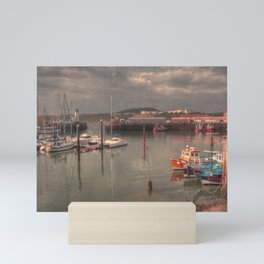 Harbour of Scarborough Mini Art Print