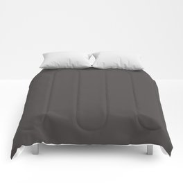 Solid Black Cow Color Comforters