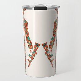 The flower gang  Travel Mug