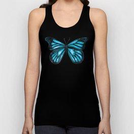 Blue Morpho Butterfly Unisex Tank Top