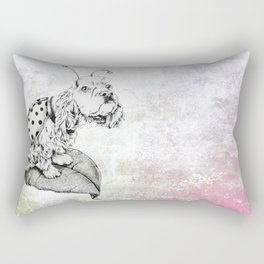 Lady Spaniel Bug Rectangular Pillow