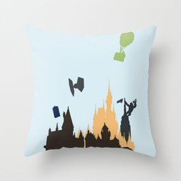 Movieland Throw Pillow