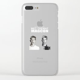 Nash Grier and Cameron Dallas Clear iPhone Case
