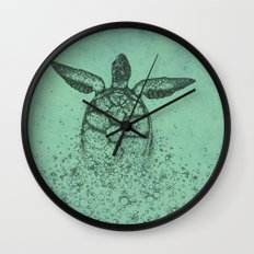 Into_The_Sea Wall Clock