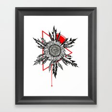 Eguzkilore Framed Art Print