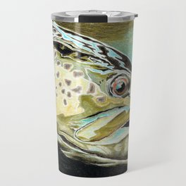 metallic brown Travel Mug