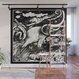 Jungle High Wall Mural