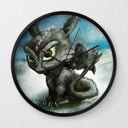Hatchling Fury Wall Clock