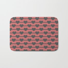 Hearts Bath Mat