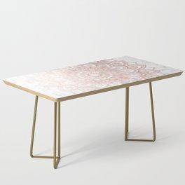 Pleasure Rose Gold Coffee Table