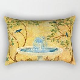 Peace Garden Rectangular Pillow