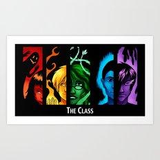 The Class Bookmark Print Art Print