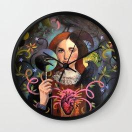 Midnight Dialogue Wall Clock