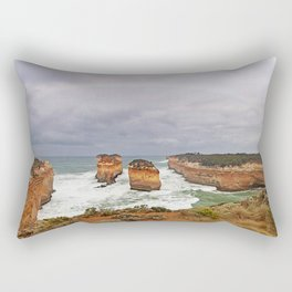 The Island Archway at Loch Ard Gorge Rectangular Pillow