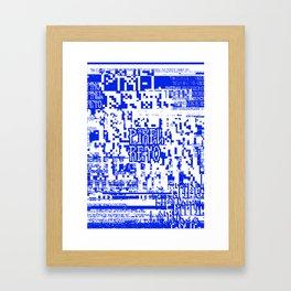 Pixel Reto Framed Art Print
