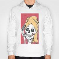 skeleton Hoodies featuring Skeleton by NathanJoyce