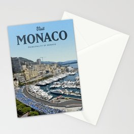 Visit Monaco Stationery Cards