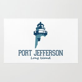Port Jefferson- Long Island. Rug