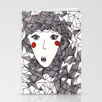 the who Stationery Cards featuring who by Eliza L