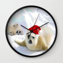 Save Me | Christmas Spirit Wall Clock
